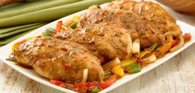طبخات بالدجاج للغداء