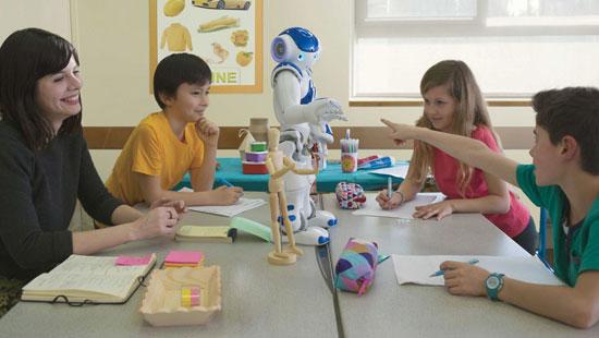 أنواع الروبوتات التعليمية