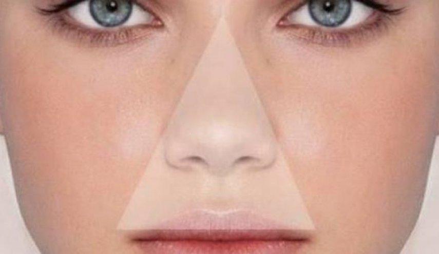 ما هو مثلث الموتفي الوجه