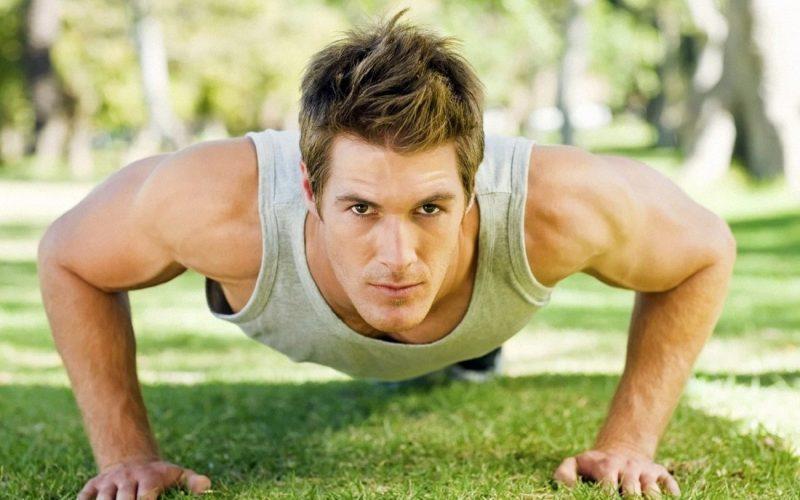 تمارين الضغط لتقوية العضلات وشد الصدر
