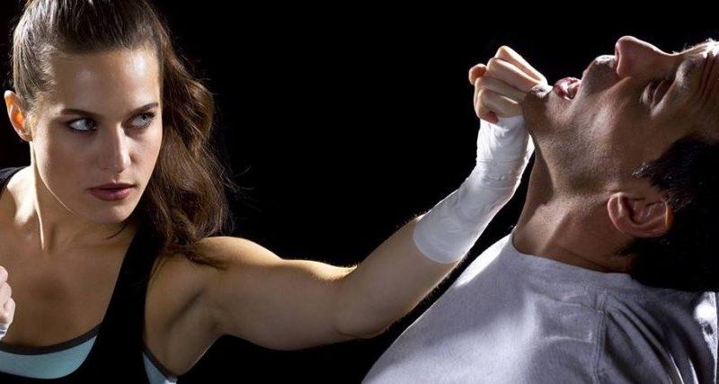 طرق الدفاع عن النفس للمرأة