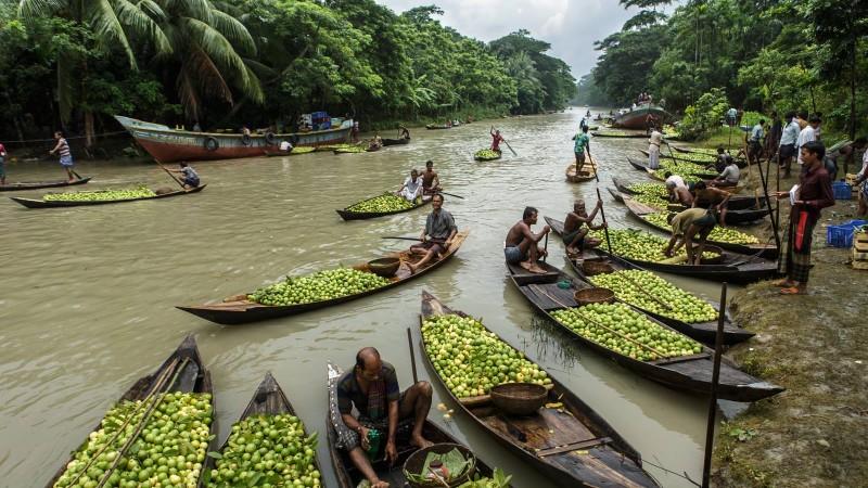 أنهار بنجلاديش