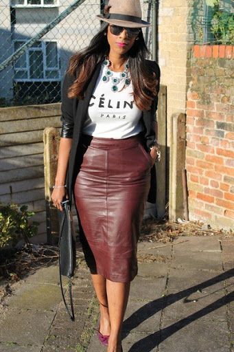 (12)leather skirt for women trend 2015-2016