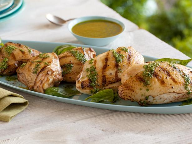 Grilled chicken with basil dressing recipe giada de laurentiis grilled chicken with basil dressing recipe giada de laurentiis food network forumfinder Choice Image