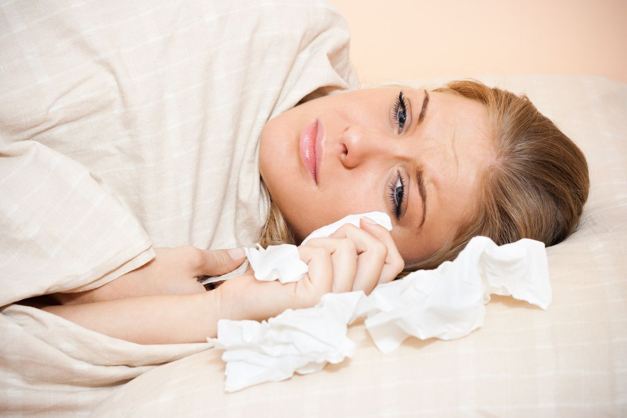 أضرار الحزن قبل النوم
