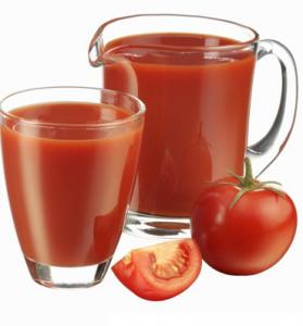كوبين من الطماطم لعمل لحمة الراس بالقرفة وعصيرالطماطم