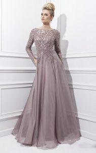 2015-New-Long-Prom-Dresses-Boat-Neck-Long-Sleeves-Chiffon-Beaded-Prom-Evening-Dress-Vestidos-