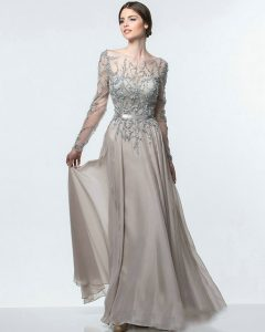 2015-Oscar-Long-Sleeve-Formal-Dresses-Chiffon-O-neck-Sexy-Evening-Gowns-Illusion-Top-Sheer-Evening.jpg_640x640