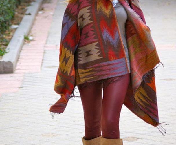 Winter clothes colors