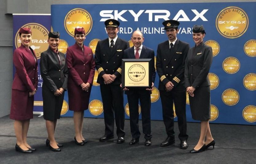 جوائز سكاي تراكس لخطوط الطيران
