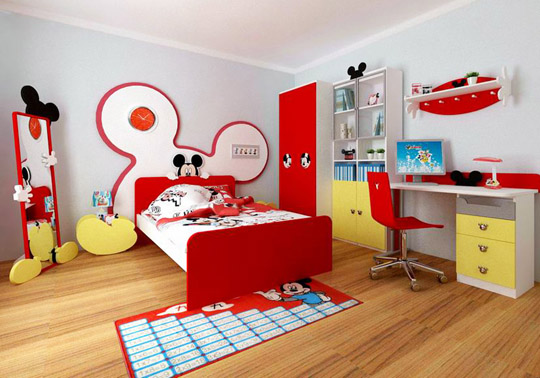 220 Kids Bedroom Furniture Disney