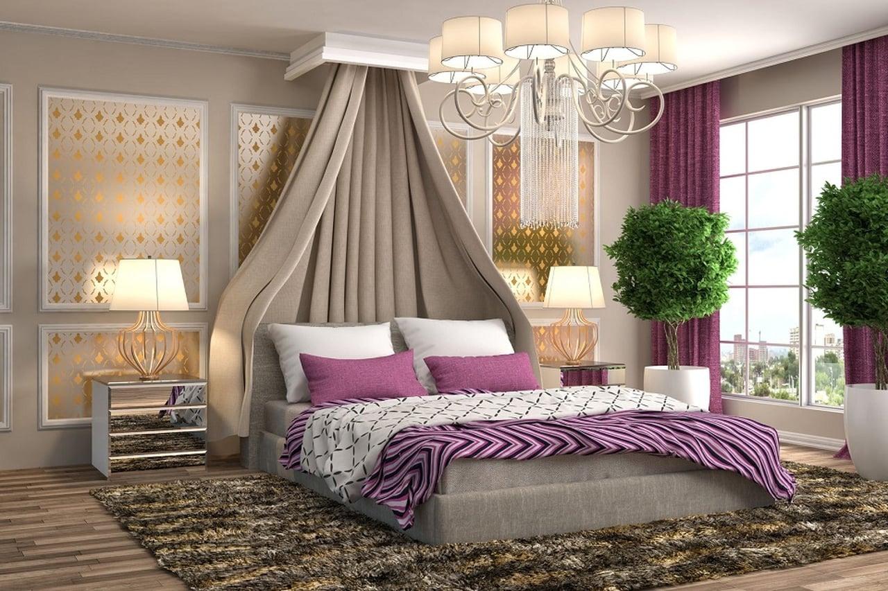 أجمل ديكورات جبسية لغرف النوم الرومانسية