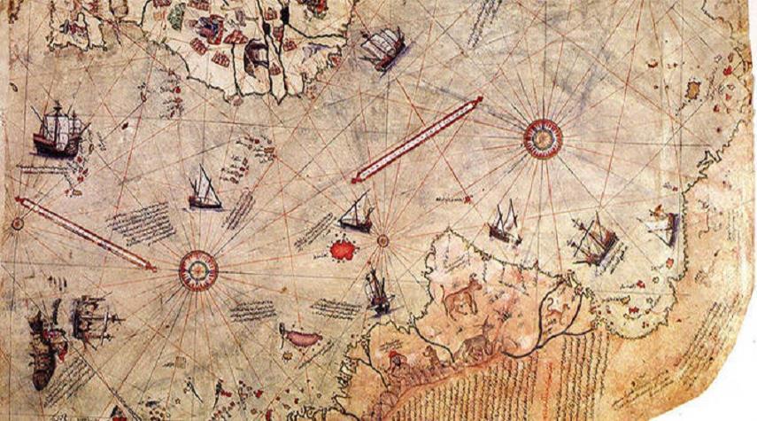 خرائط قديمة احتار العلماء في تفسيرها