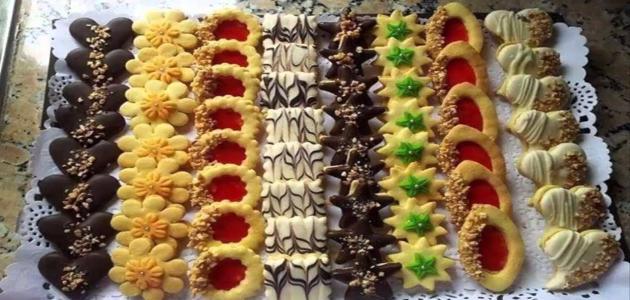 صنع الحلويات في المنزل