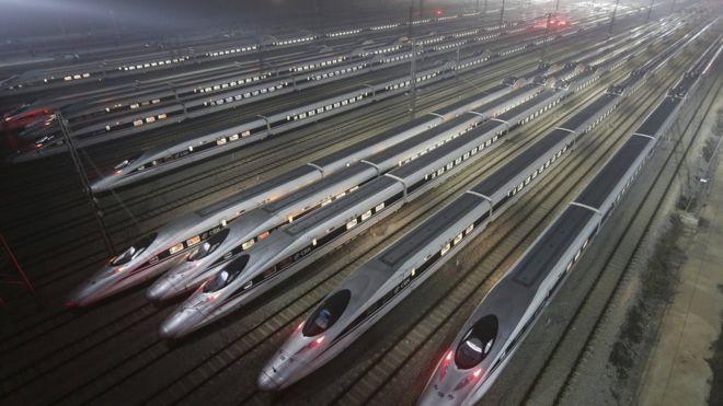 أين تقع السكة الحديد الأطول في العالم