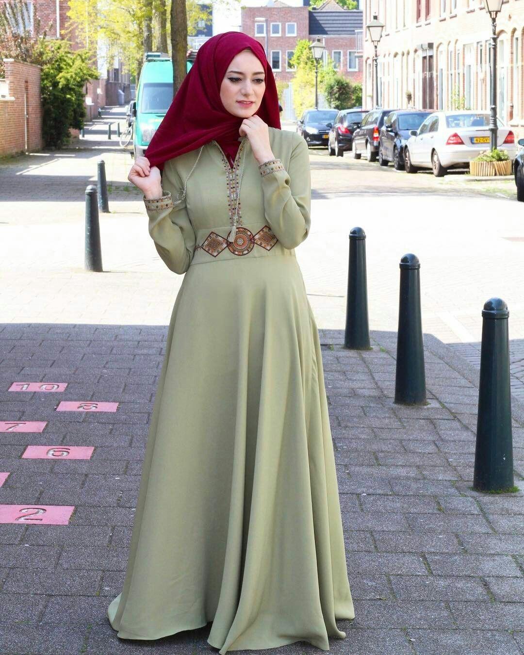 4fdc4f2376228 موديلات حجابات للمناسبات 2018 - مجلة كاميليا