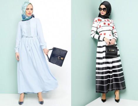 ملابس محجبات للشهر الكريم والعيد من منتدي فتكات 2016