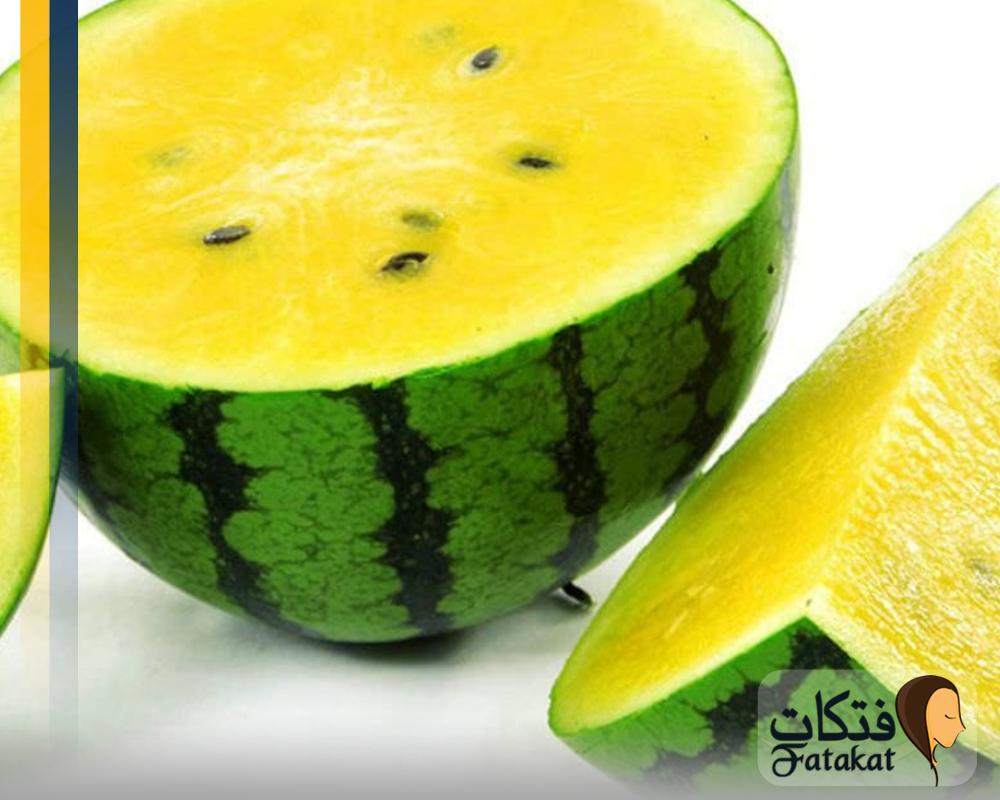 فوائد البطيخ الأصفر للحامل