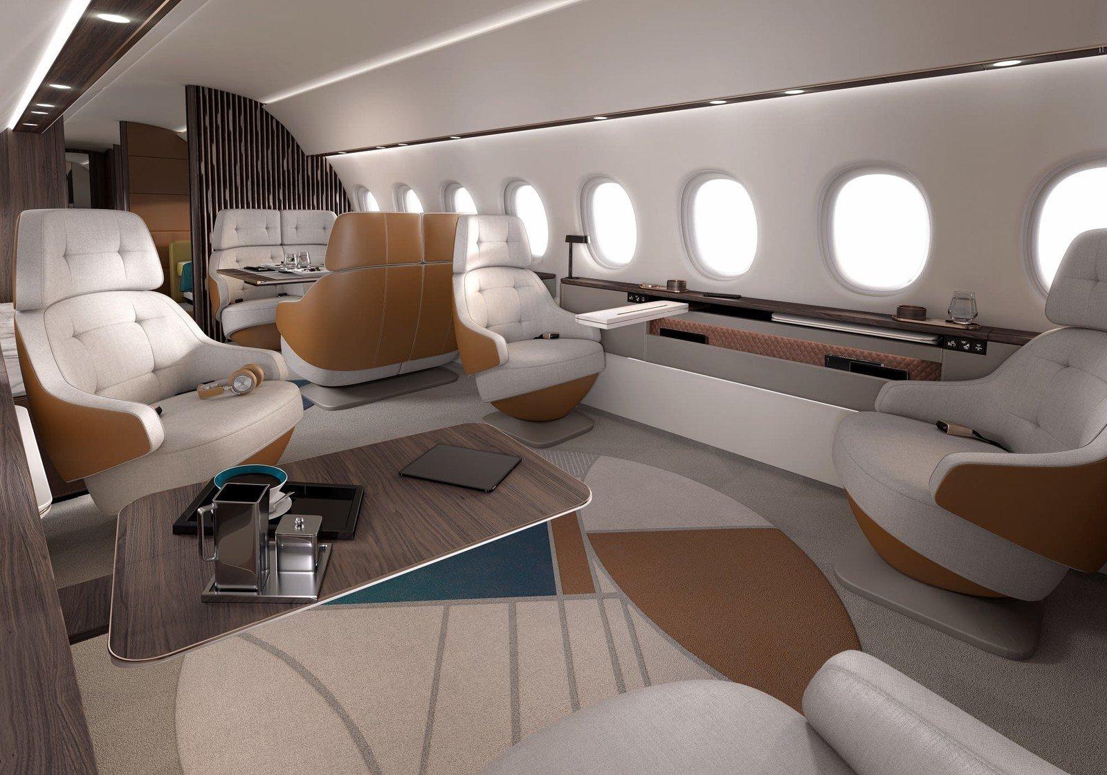 طائرة داسو فالكون 10X المخصصة لرجال الأعمال