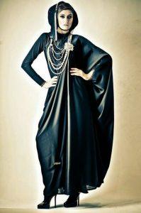 Fancy Abaya Designs اجمل صيحات عبايات محجبات سنة 2016- 2017
