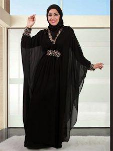 f0c8c9ab27995 Fashionable Burqa www.fatakat-a.comموديلات عبايات سوداء سعودية موضة  2017Designs (5