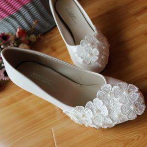 احذية زفاف ارضية بدون كعب تركية للمحجبات سنة 2016