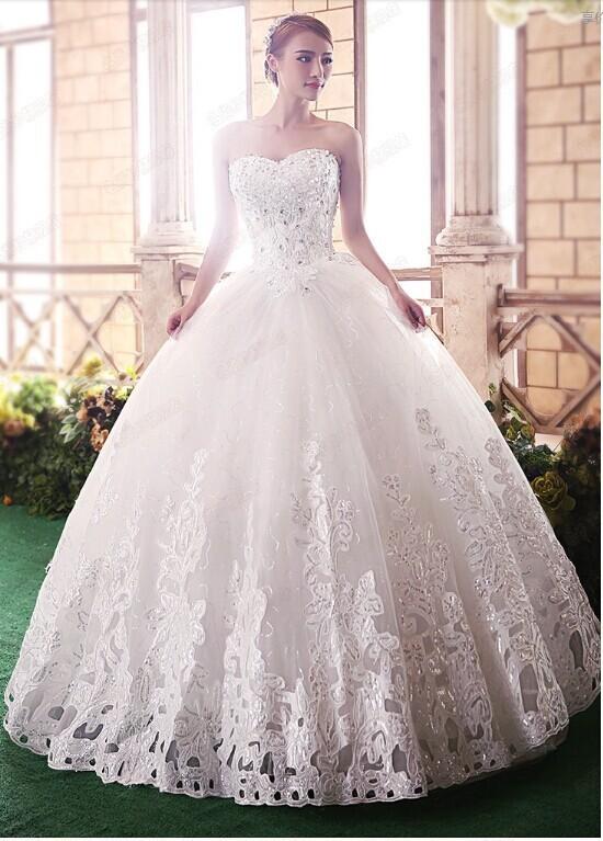 4f16d24f6 فساتين زفاف رقيقة وناعمة من موديلات فتكات2016