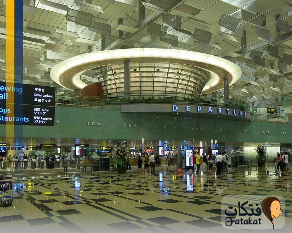 معلومات عن مطار شانغي سنغافورة الدولي