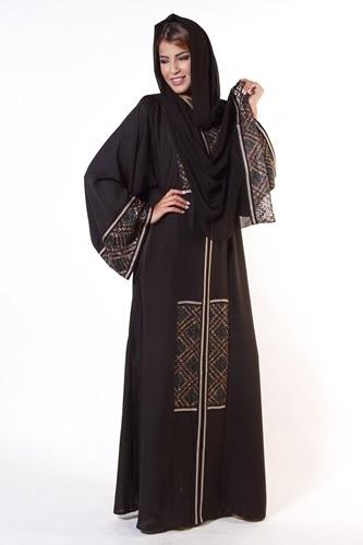 عبايات سعودية موضة ٢٠١٧