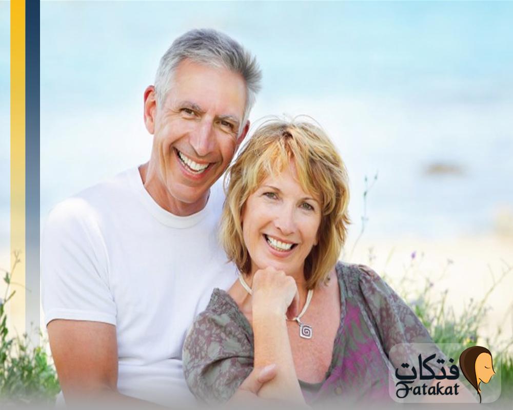 العلاقة الزوجيه و التقدم في العمر