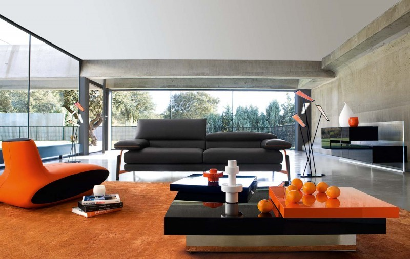 Modern-Living-fatakat-a.com- Modern –décor- of- the- living- rooms