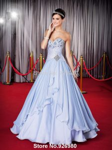 New-Designer-Sweetheart-vestidos-de-15-anos-Blue-Quinceanera-Dresses-Ball-Gowns-Sweet-16-Free-Shipping
