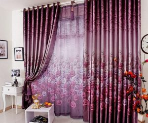 New curtain shapes for bedrooms