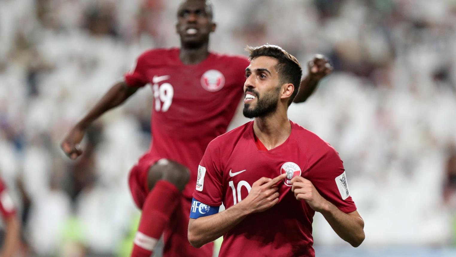 أسماء لاعبين منتخب قطر