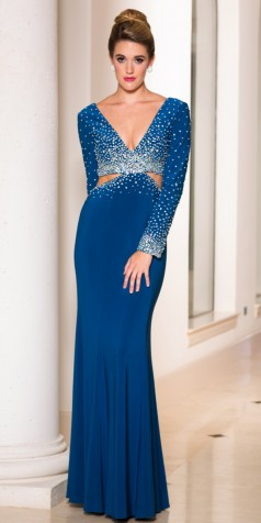 elegant long sleeve dresses - Dress Yp