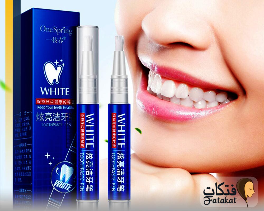 مميزات و عيوب قلم تبييض الاسنان وكيفية استخدامه