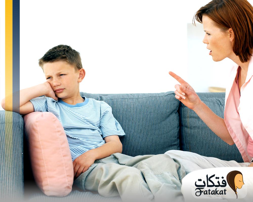 أهمية العقاب الحاسم لأطفال