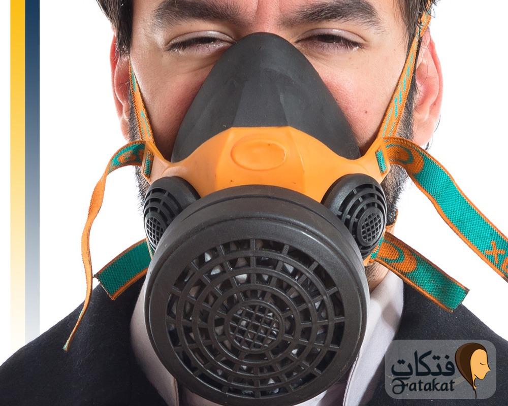 علاج استنشاق الغازات السامة