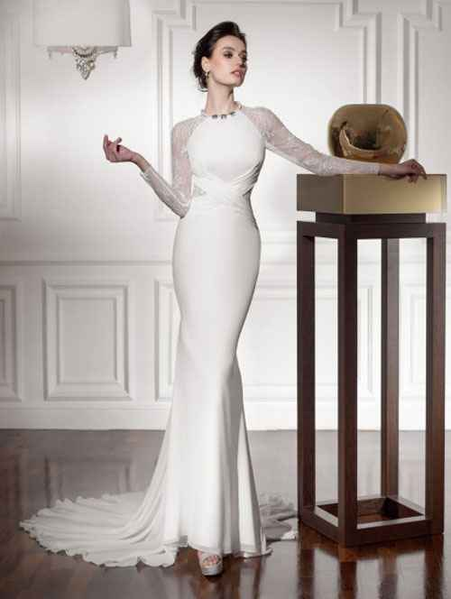 White-Wedding-Dress-With-Long-Sleeves
