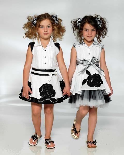 ملابس تركية للبنات الصغار