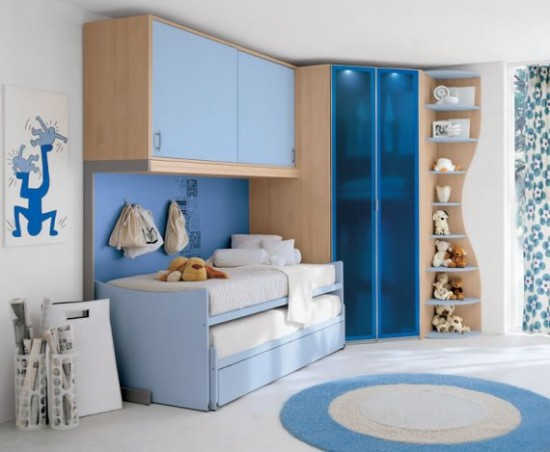 childrens-bedrooms-furniture-blue-decor-with-rug