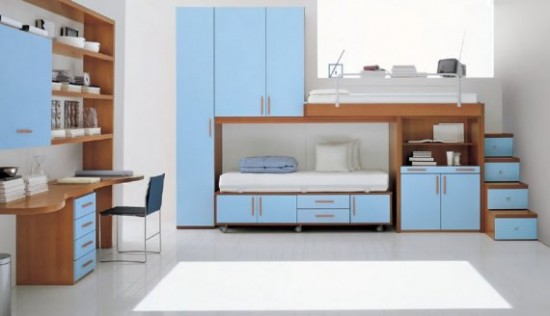 childrens-bedrooms-furniture-blue-decor