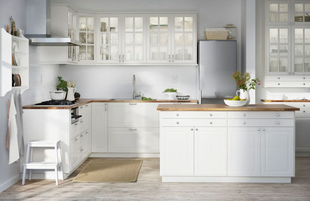 Holiday turkish kitchens for Cuisine ikea blanche