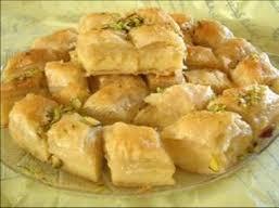 حلويات رمضانية روعة التشكيل