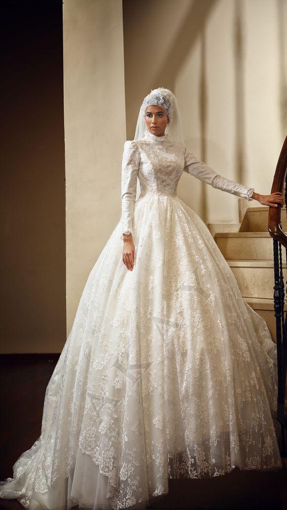 4b520933538d9 Annisaku – فساتين زفاف موديل الإسلامي 2018 – آخر فستان الزفاف تريند عام  2018، نموذج