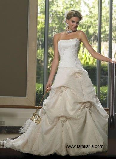 fatakat-a.com-فساتين -زفاف-تهبل1-2017