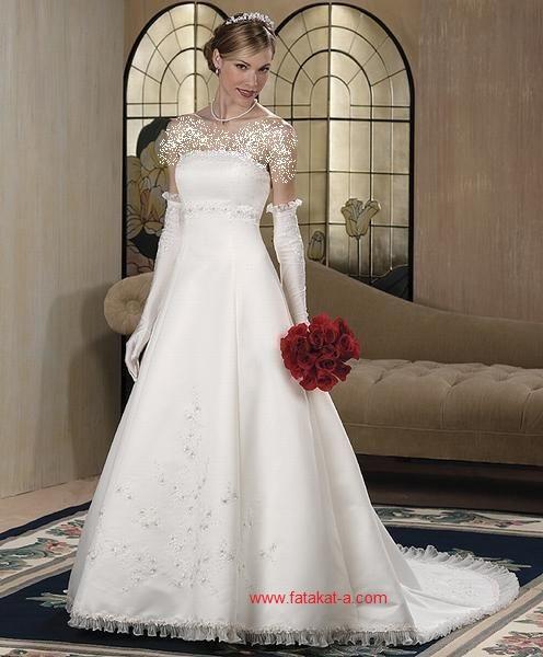 fatakat-a.com-فساتين -زفاف-تهبل17-2017