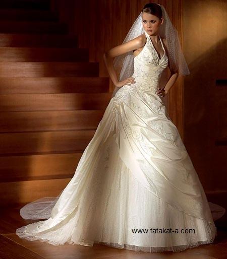 fatakat-a.com-فساتين -زفاف-تهبل9-2017