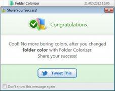 تطبيق folder colorizer لتلوين الملفات على الويندوز