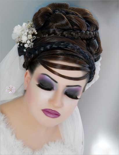 مكياج لبناني للعرائس